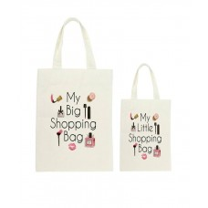 Mummy & Me Pink Cosmetics Tote Bag