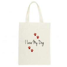 I Love My Pet Tote Bag