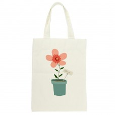 Pretty Flower Pot, Tote Bag