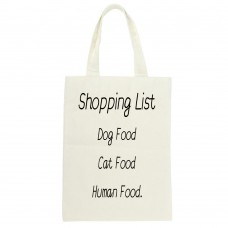 Shopping List, Tote Bag