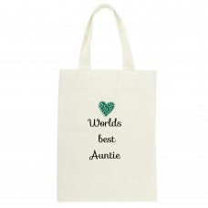 Worlds Best Auntie Tote Bag