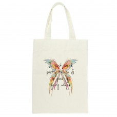 I Just Want Pretty Things & A Pair of Fairy Wings Tote Bag