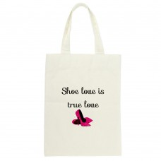 Shoe Love Is True Love Tote Bag