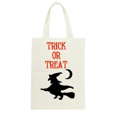 Trick Or Treat Flying Witch Tote
