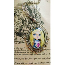 Tattooed Alice Cameo Necklace