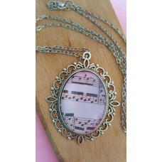 Musical Pendant With 24 Inch Chain