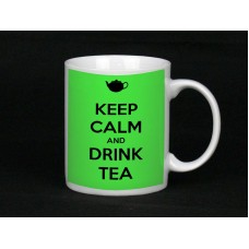 Keep Calm And Drink Tea, Ceramic Mug