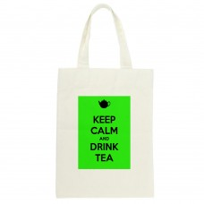Keep Calm And Drink Tea Tote Bag