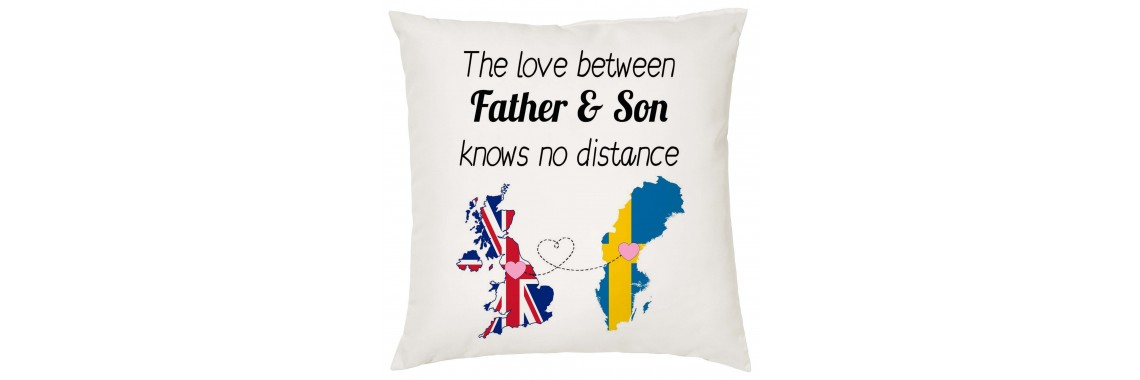 The Love Between Father & Son Knows no Distance Pillow