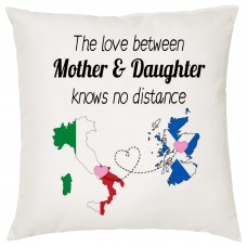 The love between Mother & Daughter Knows no Distance Cushion