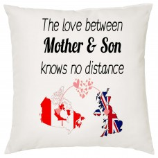 The love between Mother & Son Knows no Distance Cushion