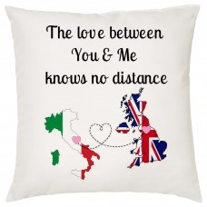 The love between You & Me Knows no Distance Cushion