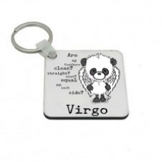 Virgo Key Ring