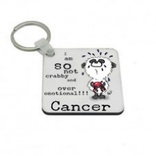 Cancer Key Ring