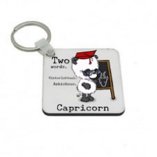 Capricorn Key Ring