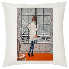 Winter Time Decorative Cushion