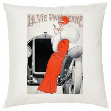 Vintage Car Decorative Cushion