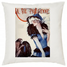 La Vie Parisienne Decorative Cushion