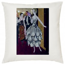 Evening At The Theatre Decorative Cushion