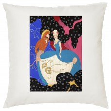 Elegant Couple Decorative Cushion