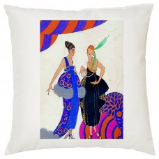 Ladies Who Lunch Decorative Cushion
