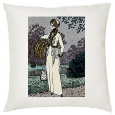 Elegant Lady Decorative Cushion