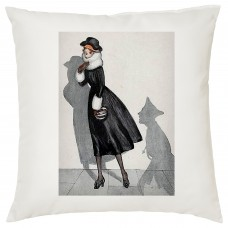 """Pardon Vicar?"" Decorative Cushion"