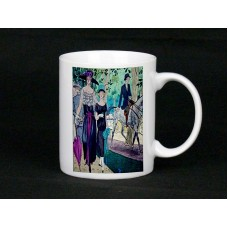 Ladies Day At The Races Ceramic Mug