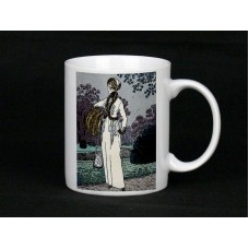 Elegant Lady Ceramic Mug