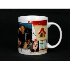 Winter Home Personalised Photo Mug