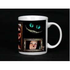 Alice's Cat Personalised Photo Mug