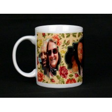 Floral Personalised Photo Mug