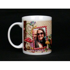 Wonderland Personalised Photo Mug