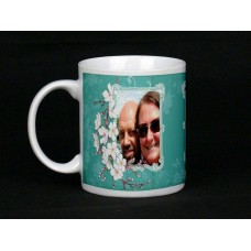 Cherry Blossom Personalised Photo Mug