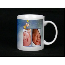Starry Night Baby Personalised Photo Mug