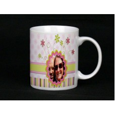 Pretty Personalised Photo Mug