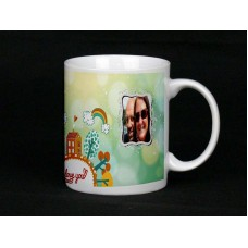 I Love You (mini world) Personalised Photo Mug