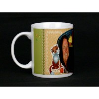 Fox and Mouse Personalised Photo Mug