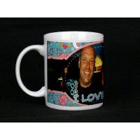 I Love You (full wrap photo) Personalised Photo Mug