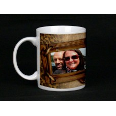 Wooden Frames Personalised Photo Mug
