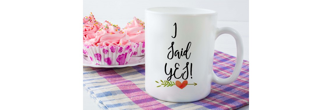 i said yes ceramic mug