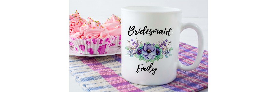 Bridesmaid Ceramic Mug