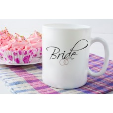 Bride (Wedding Rings) Ceramic Mug