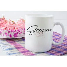 Groom (Wedding Rings) Ceramic Mug