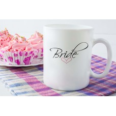 Bride (Heart) Ceramic Mug